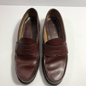 643e705e559 benchmark Shoes - Benchmark Burgundy Leather Penny Loafer Shoes